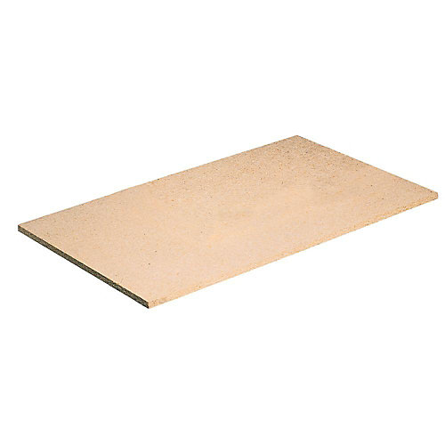 18-inch x 24-inch Particleboard Shelf