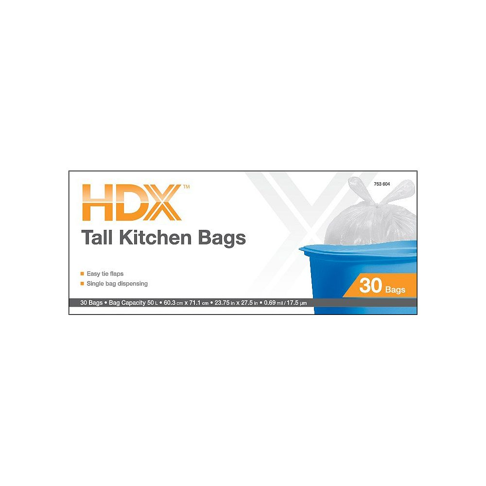 HDX Flap Tie Kitchen Tall