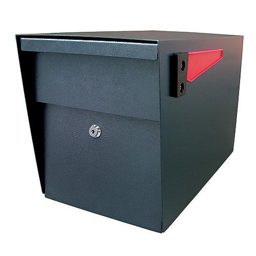 Boîte aux lettres à verrou Mail Boss, en noir à fini