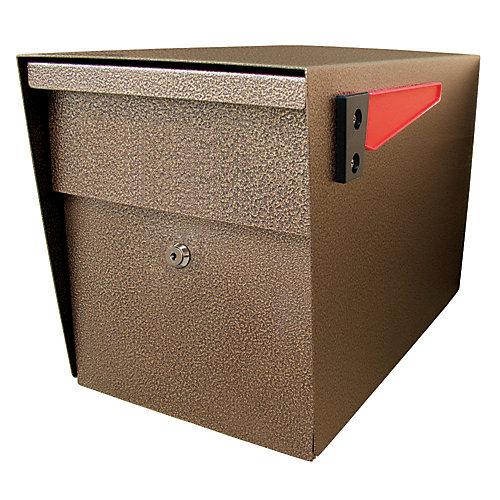 Boîte aux lettres à verrou Mail Boss, en bronze à fini