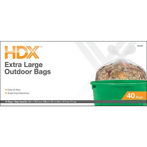 HDX Flap Tie Outdoor/Yard Clear