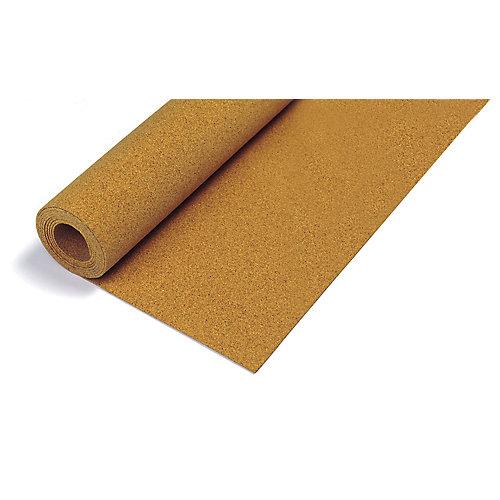 50 ft. x 4 ft. x 1/4-inch Cork Underlayment