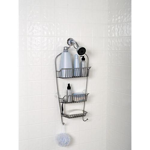 Serviteur de douche résistant en nickel