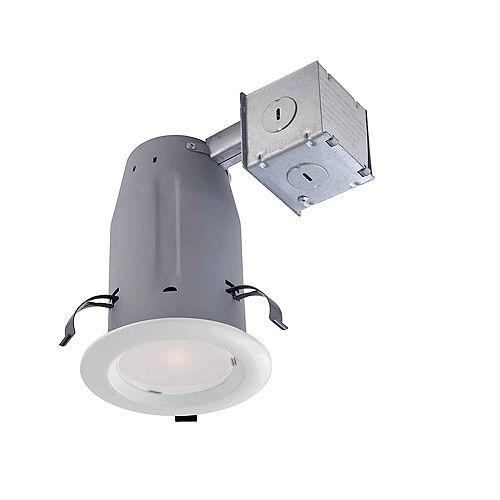 Commercial Electric Ensemble de luminaire encastré à DEL, 3po, blanc- ENERGY STAR®