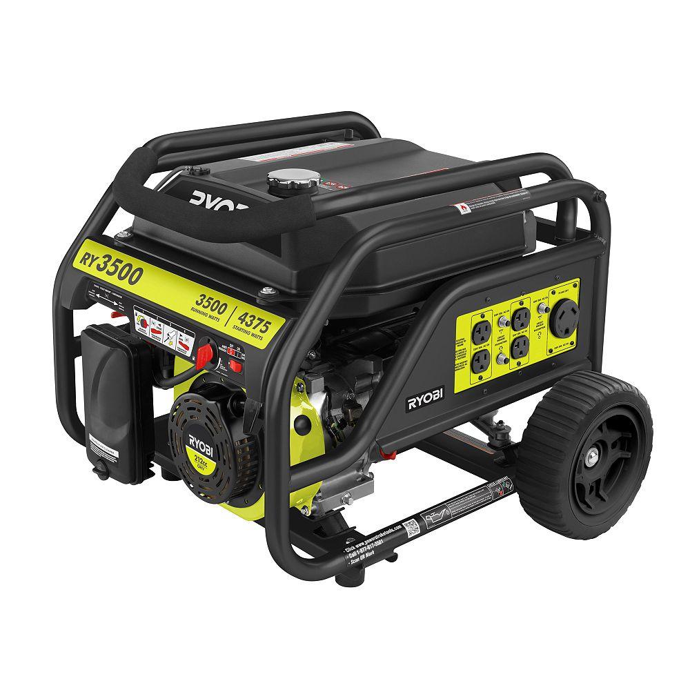RYOBI 3500 Watt Portable Generator