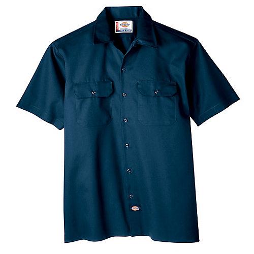 1574 Short Sleeve Button Work Shirt - Large