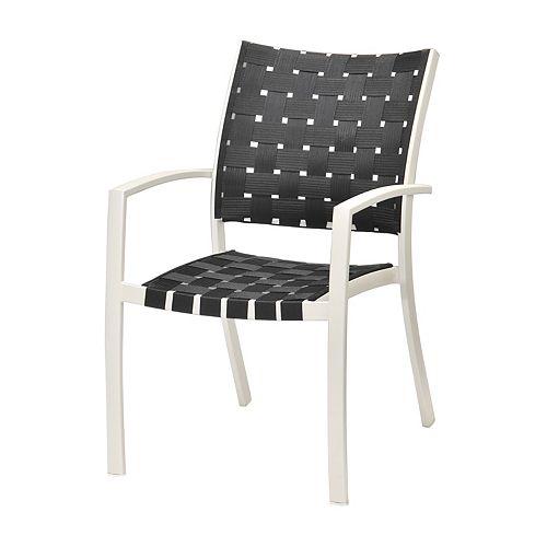 HDG Black Strap Chair