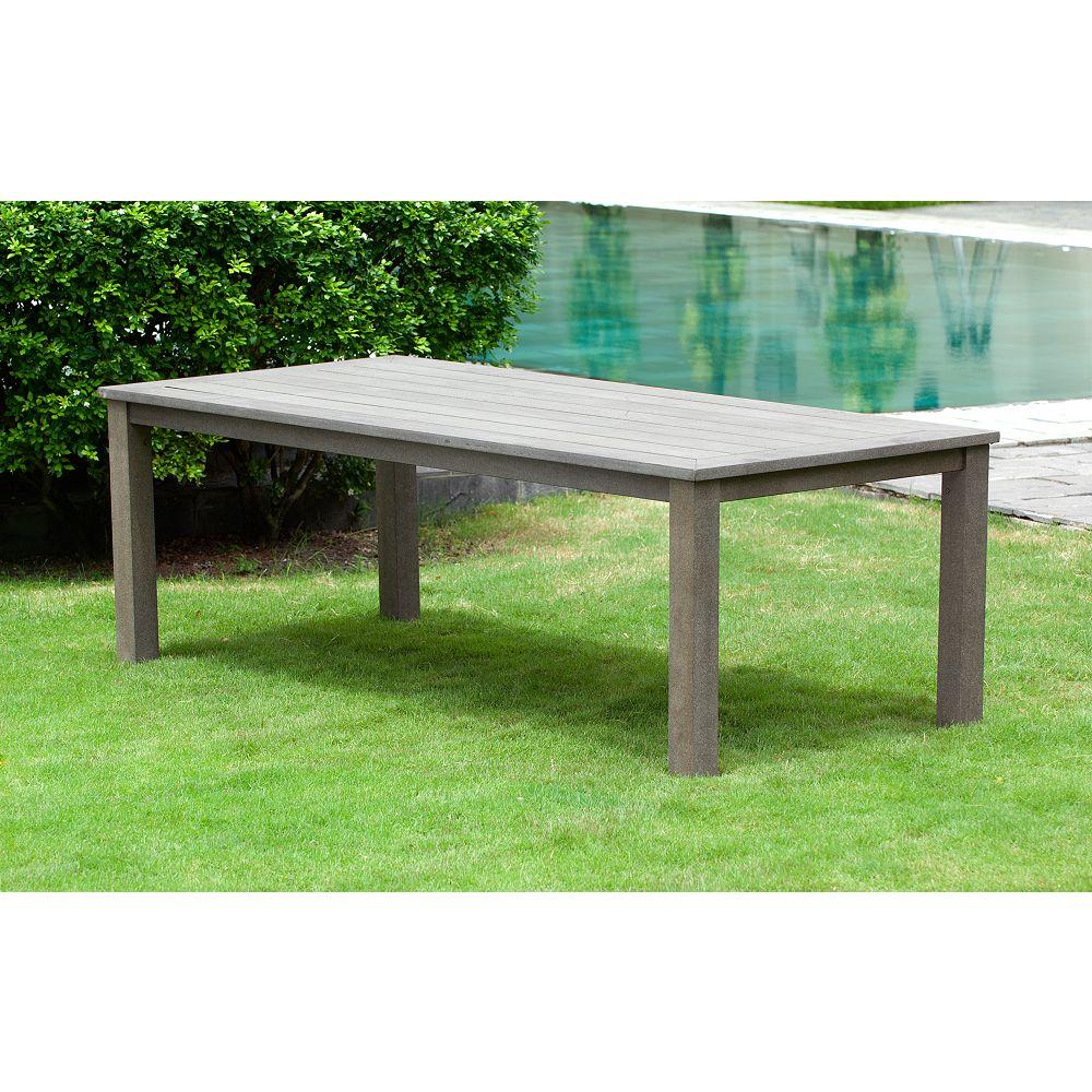 hampton bay tacana extra large rectangular resin patio