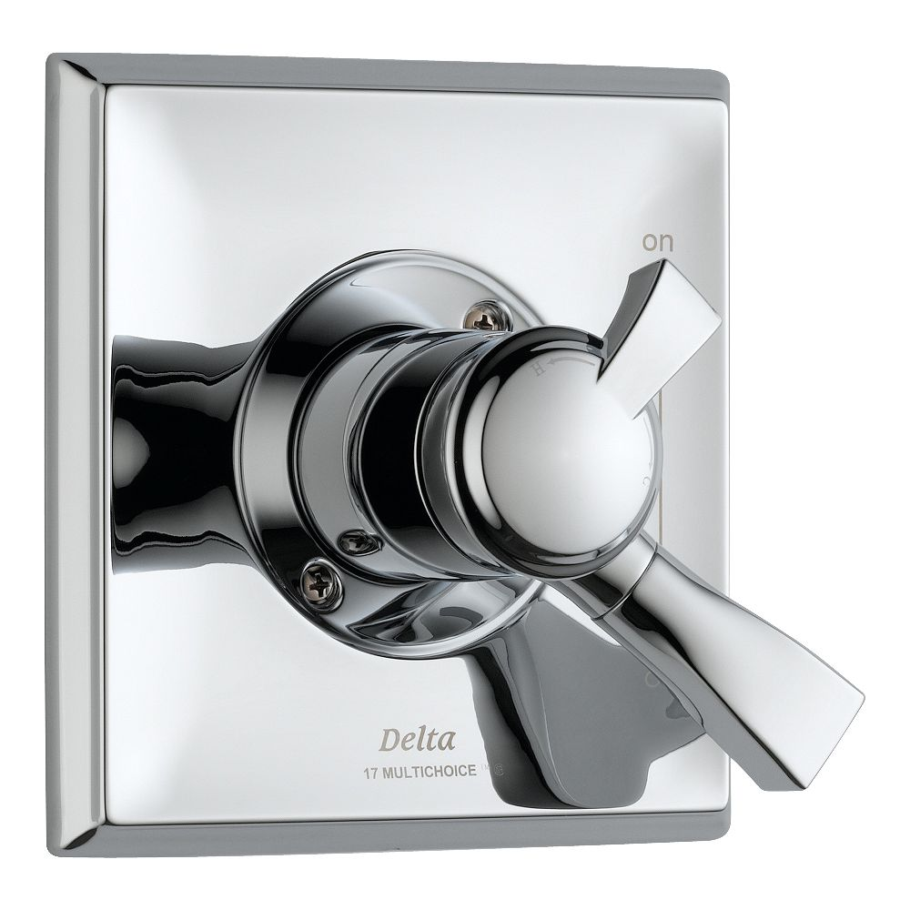 Delta Dryden 1-Handle Diverter Valve Trim Kit in Chrome (Valve Sold Separately)