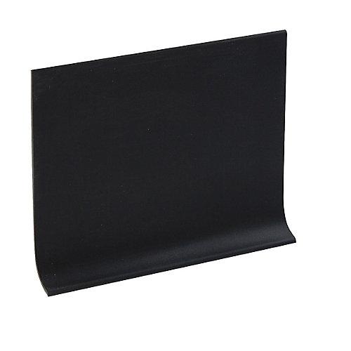 Plinthe Murale De 4 Pouce En Vinyle - Rouleau de 120 Pied - Noire