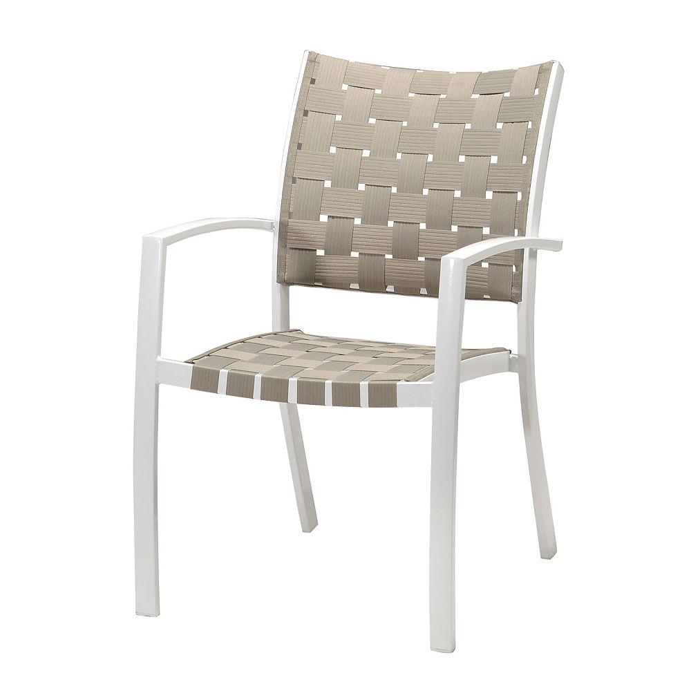 HDG Beige Strap Chair