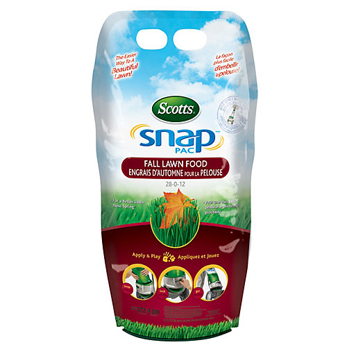 Snap Pac Fall Lawn Food 28-0-12