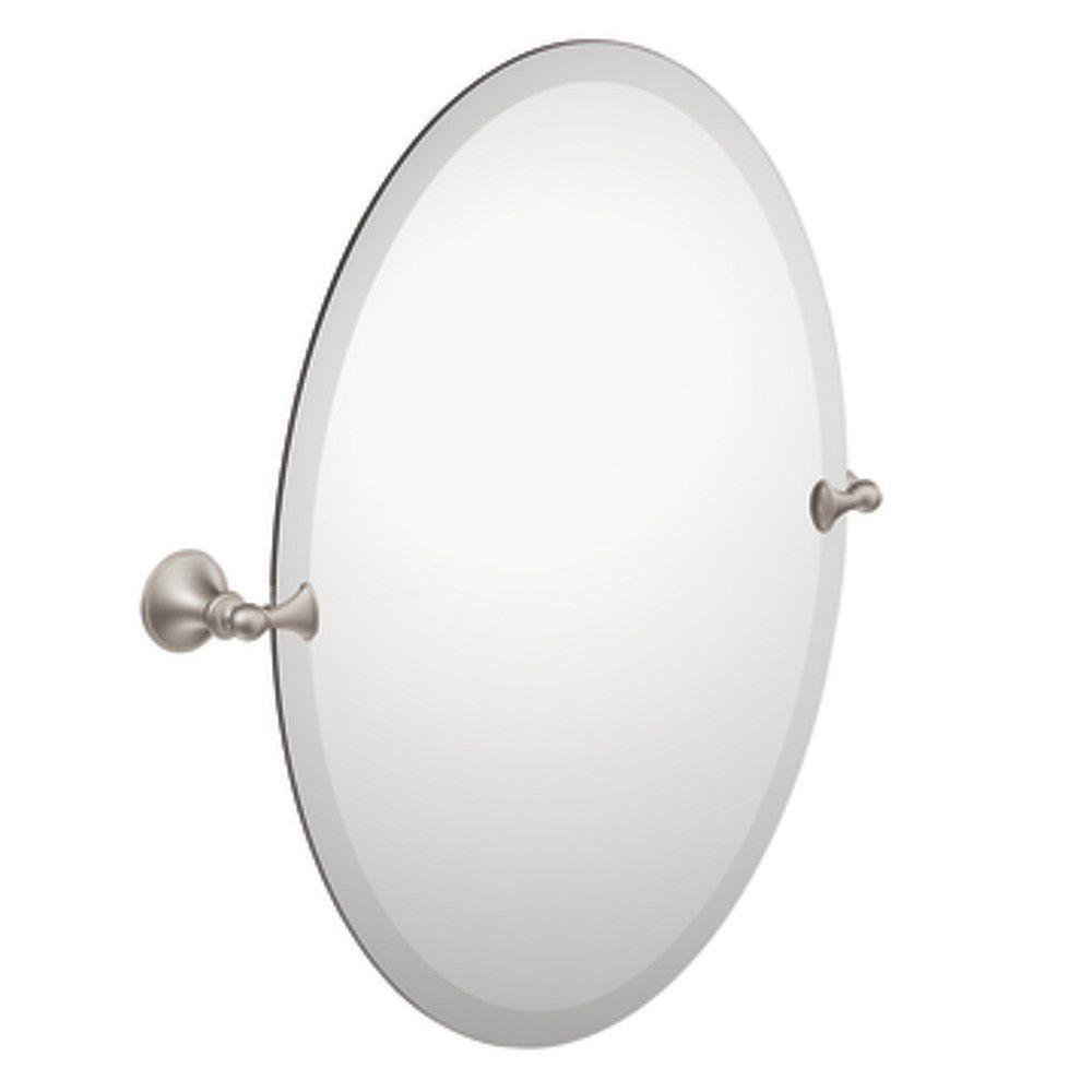 MOEN Miroir nickel brossé
