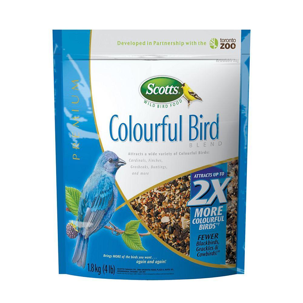 Scotts COLOURFUL BIRD 3X1.8KG
