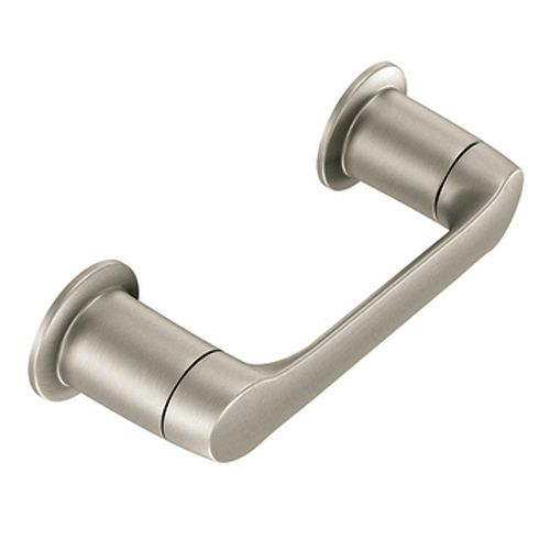 MOEN Method Pivoting Toilet Paper Holder in Brushed Nickel
