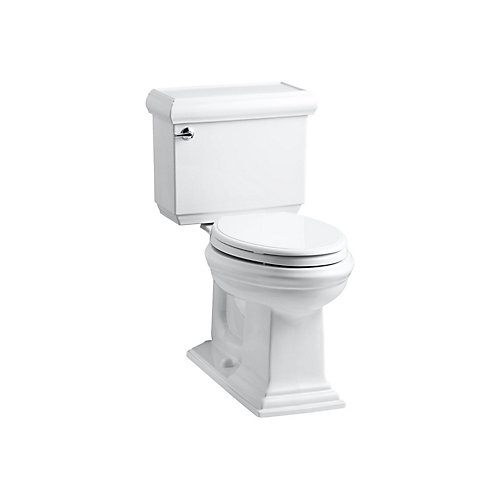 Memoirs® Classic Comfort Height® The Complete Solution® two-piece elongated 1.28 gpf chair height toilet with slow close seat