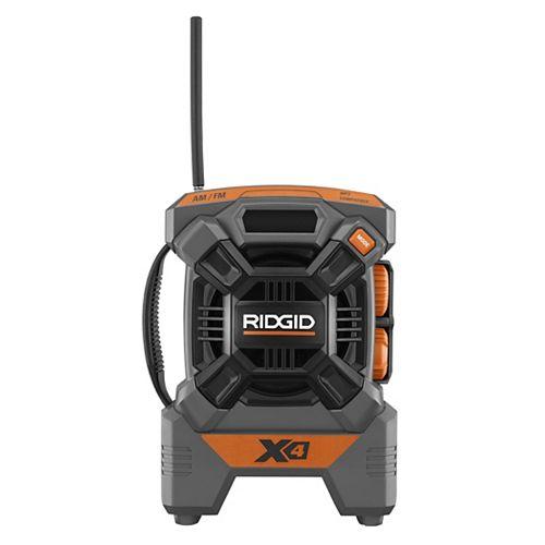 X4 18-Volt Cordless Mini Radio (Tool Only)