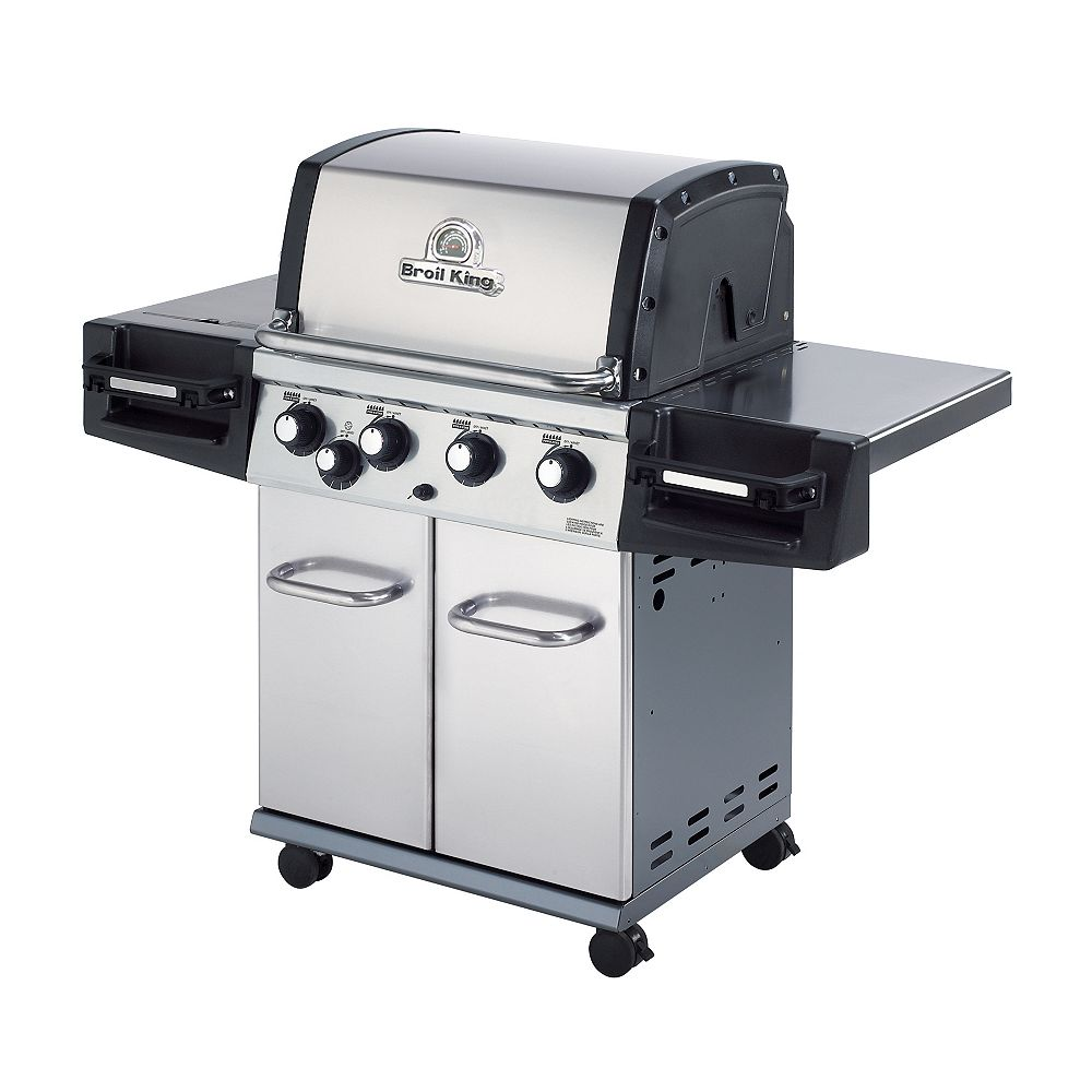 Broil King Barbecue au gaz propane Regal 440 Pro à 4 brûleurs de 50 000 BTU