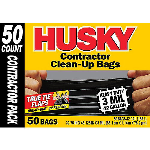 Contractor Clean-Up Bag (50-Pack)