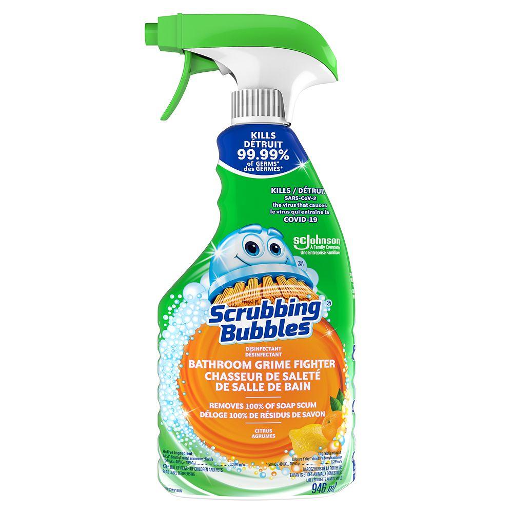 Scrubbing Bubbles Disinfectant Bathroom Grime Fighter - Citrus Trigger 946ml