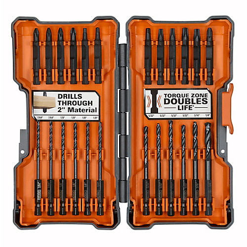 24-PIece Impact Drilling and Driving Kit