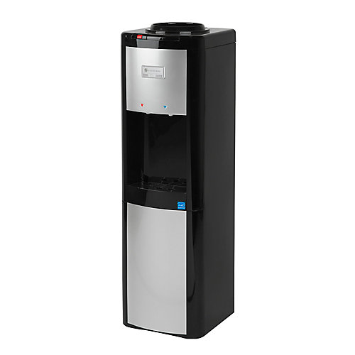 Top Load Water Dispenser (Hot and Cold) in Black/Platinum