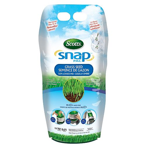 Scotts Snap Pac Sun & Shade Grass Seed 2.27 kg