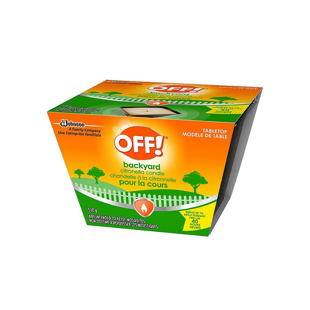 OFF! Citronella Insect Repellent Bucket