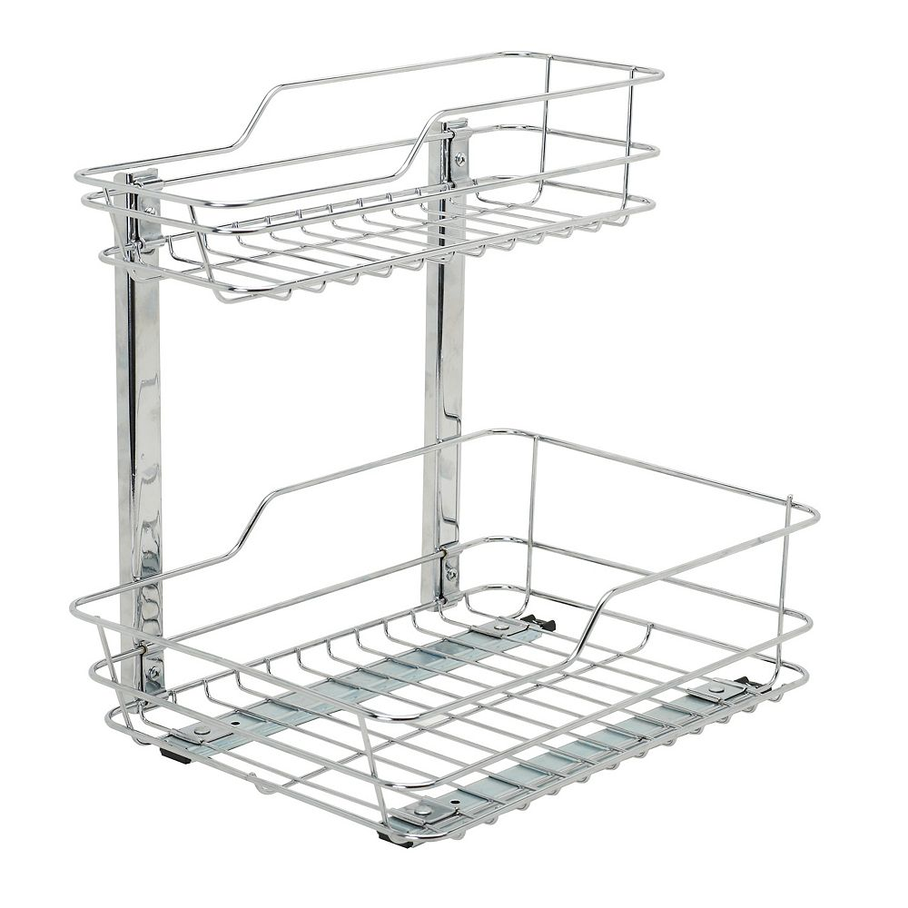Zenith Products Organisateur coulissant pour meuble-lavabo
