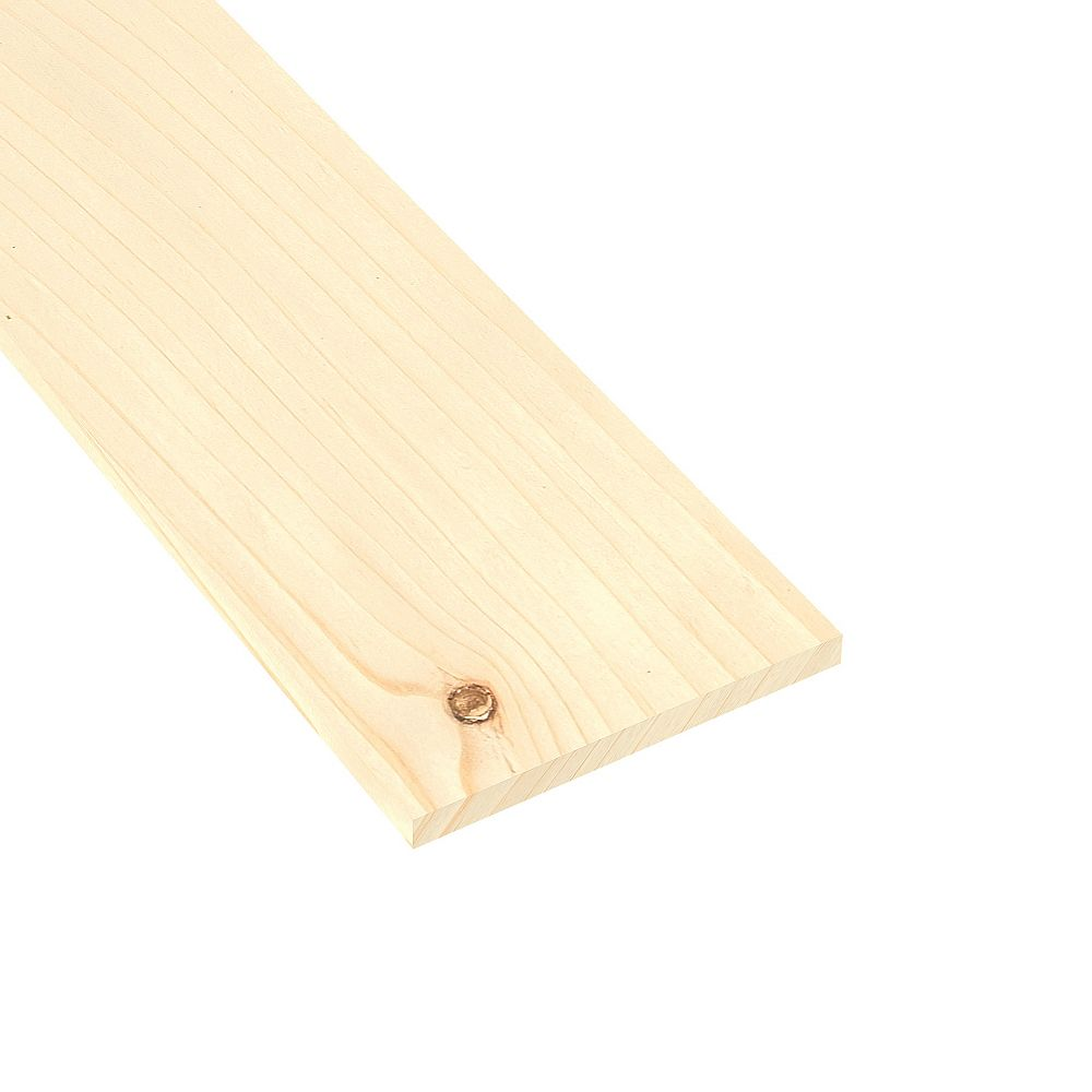 Metrie Knotty Pine #3 S4S 1 x 10 x 8 ft.