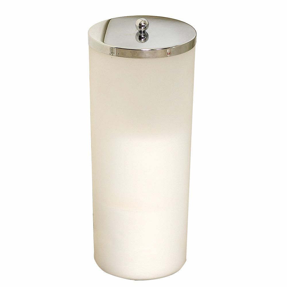 Zenith Products Toilet Paper Canister - Frosted
