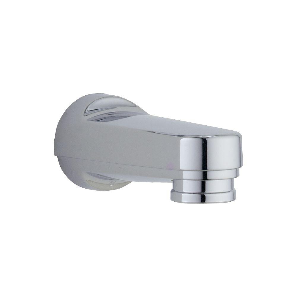 Delta Pull-down Diverter Tub Spout in Chrome