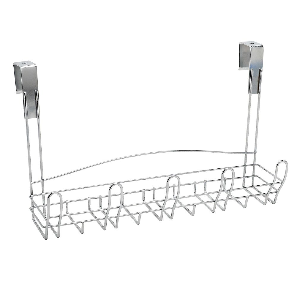 Zenith Products Door Rack With Baskets - Chrome