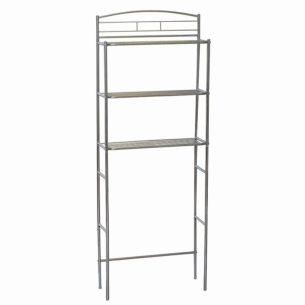 Zenith Products 3 Shelf Wire Stainless Steal