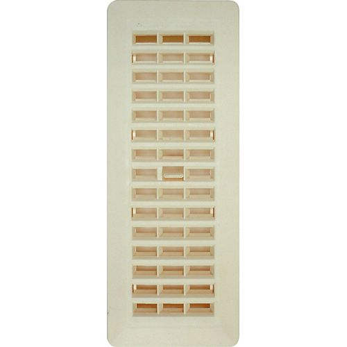 3-inch x 10-inch Beige Floor Register (6-Pack)