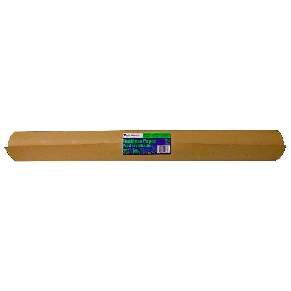 HDG Brown Builders Paper 36 Inch x 167 Feet