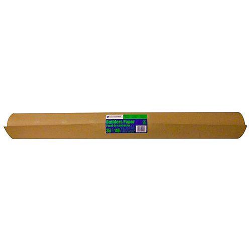 Brown Builders Paper 36 Inch x 167 Feet