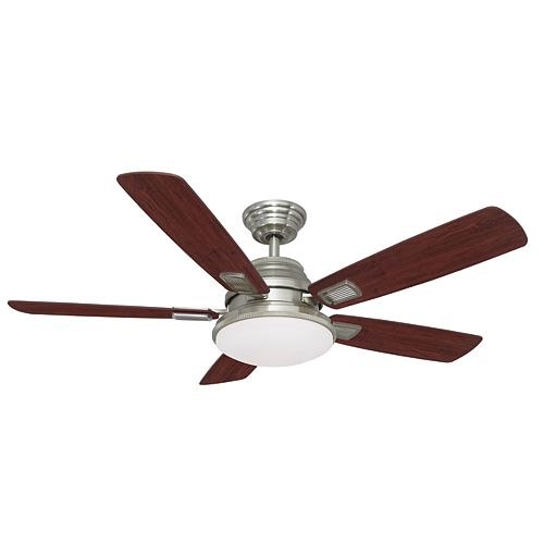 Hampton Bay Ventilateur de plafond de 1,32 m Collection Latham