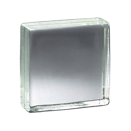 8 Inch x 8 Inch x 3 Inch Solid Glass Block Vistabrik, case of 3