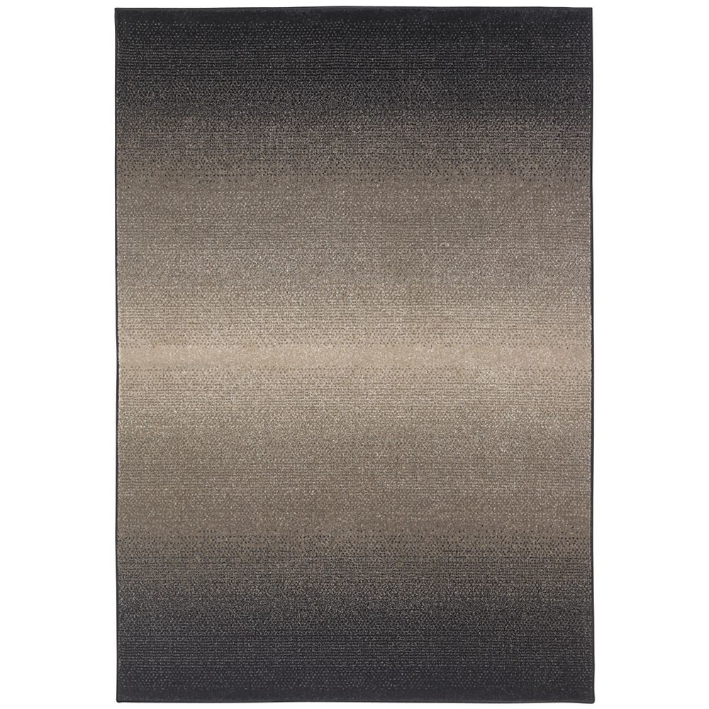 Springs Home Gradient Grey 5 ft. 3-inch x 7 ft. 6-inch Rectangular Area Rug
