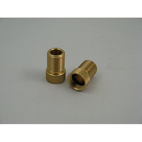 Replacement Faucet Shank Extension Solid Brass, 2-Piece, 1 inch