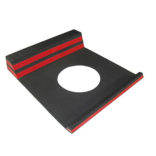 Parking Stopper Red - 21.5 Inches x 9.5 Inches