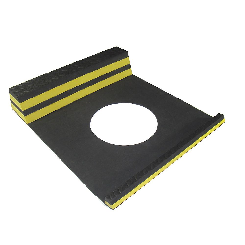 Home Decor Parking Stopper Yellow - 21.5 Inches x 9.5 Inches