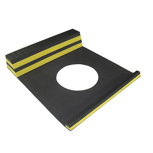 Parking Stopper Yellow - 21.5 Inches x 9.5 Inches