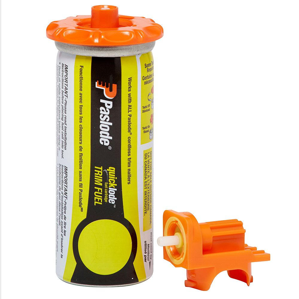 Paslode 650039 - SHORT YELLOW FUEL CELL, (4-Pack)