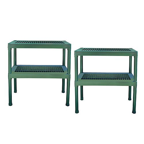 Two Tier Staging Bench - (2-Pack)