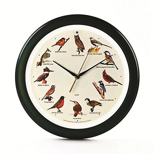 Horloge de chants doiseaux