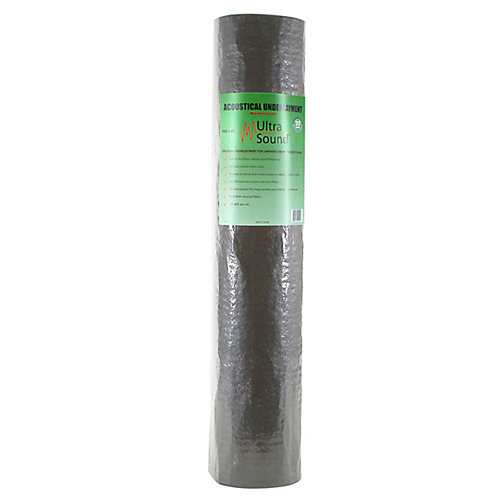 UltraSound 100 sq. ft. 40-inch x 30 ft. Acoustical Underlayment