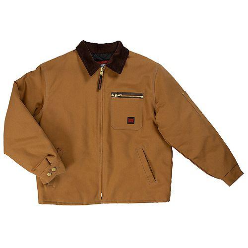 Manteau de travail— brun g