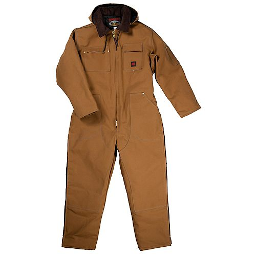 Heavyweight Coverall Brown 2X Large